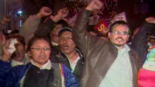 Sutep reconoce intromisión del Movadef en protestas de docentes