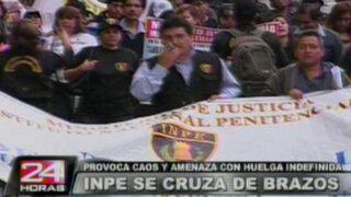 Trabajadores del INPE amenazan con huelga indefinida