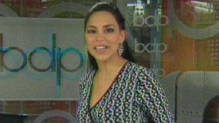 Claudia Hernández desde este lunes 9 en Buenos Días Perú