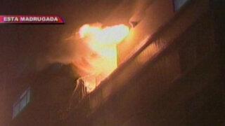 Centro de Lima: vela habría causado incendio donde falleció recicladora