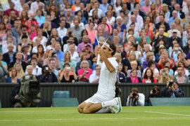 Roger Federer se impuso a Murray en Wimbledon
