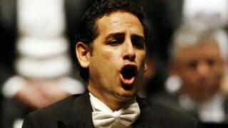 Juan Diego Flórez le cantó a Mario Vargas Llosa durante Festival de Salzburgo