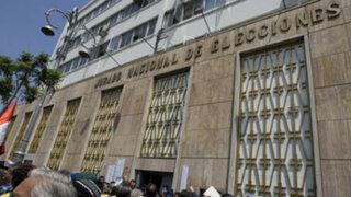 JNE: hay 218 candidatos con condena vigente