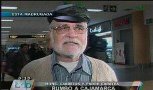 Padre Gastón Garatea fue dado de alta en hospital del Cusco