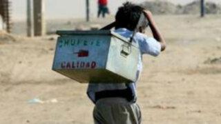 Gobierno buscará erradicar las peores formas de trabajo infantil en Perú al 2021