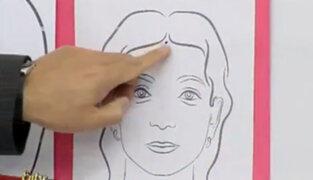 Qué significan los lunares en el rostro