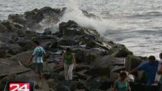 Niños recicladores salvaron de morir ahogados en mar del Callao