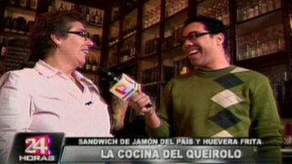 """""""Aromas y Sabores"""" presenta los tradicionales sánguches de la taberna Queirolo"""