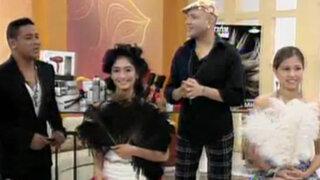 Estilista Pablo Oliva presenta novedosos peinados para quinceañeras