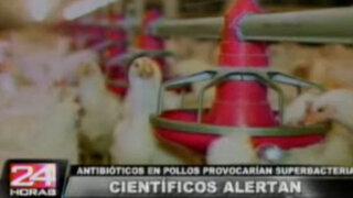 Antibióticos inyectados a los pollos afectan seriamente el cuerpo humano