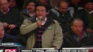 Espinar: Gobierno reanuda mesa de diálogo con autoridades locales