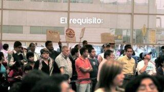 """El """"Peruanómetro"""" ofrece una cálida bienvenida a turistas extranjeros"""