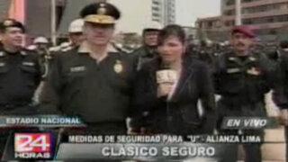 Unos 5,000 policías vigilarán clásico Universitario-Alianza en el Nacional