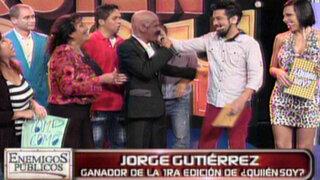 'Coco' Gutiérrez es el campeón de la gran final de '¿Quién Soy?'