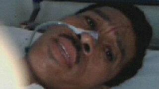 Hombre que fue baleado por su esposa se recupera en hospital