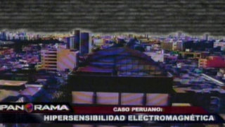 Primer caso peruano de hipersensibilidad electromagnética