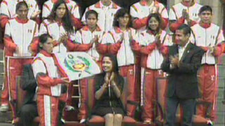 Humala despidió a deportistas que participarán en juegos de Londres