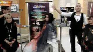 Carlos Cacho y Koki Belaunde nos presentan peinados de Avant Garde