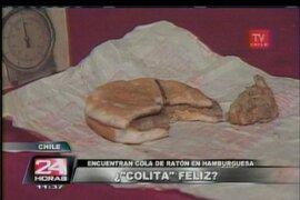 Chile: encuentran cola de ratón en hamburguesa de McDonald's