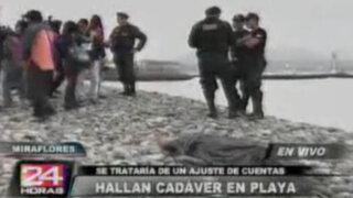 Encuentran cadáver en playa la estrella de Miraflores