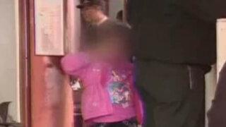 Niña quemada por su madre con una plancha pasó a tutela del Inabif