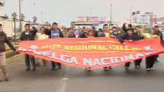 Docentes del Sutep continuarán protestas hasta ser escuchados