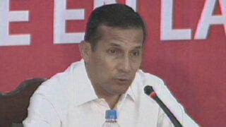 Presidente Humala: Mi viaje a Rusia será de trabajo y no de paseo