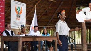 Otorgan títulos de registro de conocimientos colectivos a nativos