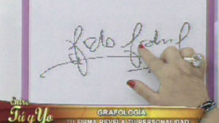 Grafología: descubra los tipos de personalidades según las firmas