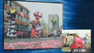 Este domingo 22 cerrarán calles de Miraflores por el Corso de Wong