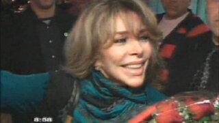 Actriz Verónica Castro llega a Lima para el evento 'Viva México'