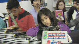 Gran afluencia de público en la Feria Internacional del Libro de Lima