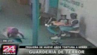 Menor de 9 años golpeaba salvajemente a niños de una guardería