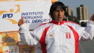 Madre de Gladys Tejada viaja a las Olimpiadas Londres 2012