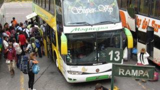 Noticias de las 7: transporte interprovincial hace de las suyas en feriado largo
