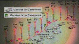 Policía de Carreteras garantiza seguridad durante viajes por Fiestas Patrias