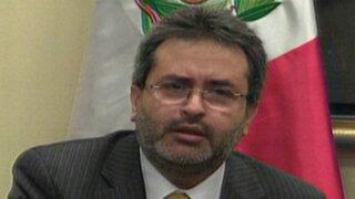 Juan Jiménez se pronuncia sobre casos de Alexis Humala y Pensión 65