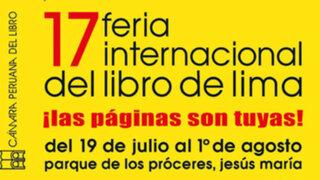 17º FIL en Lima: entérese de la agenda preparada para hoy.
