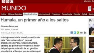 Medios internacionales siguieron el mensaje presidencial de Humala