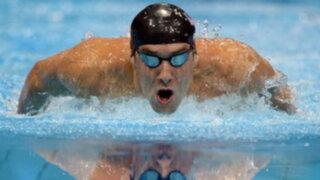 El 'tiburón de Baltimore' clasificó a la final en Londres 2012