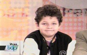 Niño escritor Kabir Pajares presenta su libro en Buenos Días Perú