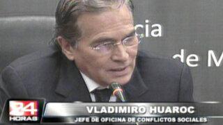 Huaroc: Nos preocupa Conga, pero más nos preocupa Cajamarca
