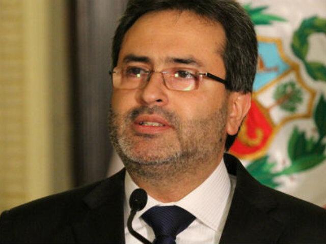 Premier Jiménez afirma que el último paro de la CGTP fue un fracaso