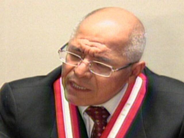 San Martín respalda legalidad de fallo a favor del grupo Colina