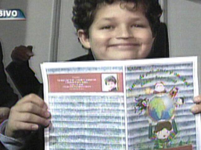 Menor de ocho años sorprende al publicar su primer libro de cuentos