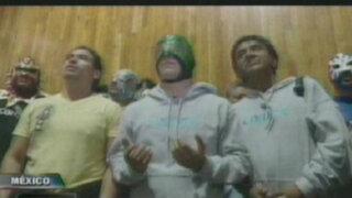 México: luchadores peregrinaron hasta santuario de la Virgen de Guadalupe