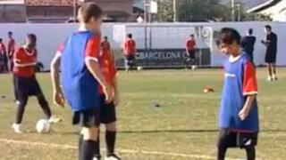 Brasil: niño es el nuevo crack de las divisiones menores del Barcelona FC