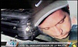 VIDEO: Perfil psicológico del descuartizador de la maleta Ricardo Vásquez