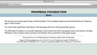 Portal Wikipedia dejó de funcionar por problemas con el internet