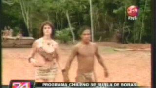 Televisión chilena se burla y ofende a comunidad Bora
